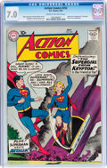 Silver Age (1956-1969):Superhero, Action Comics #252 (DC, 1959) CGC FN/VF 7.0 Cream to off-whitepages....