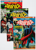 Bronze Age (1970-1979):Horror, Tomb of Dracula Group (Marvel, 1972-76).... (Total: 9 Comic Books)