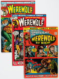 Bronze Age (1970-1979):Horror, Werewolf by Night Group (Marvel, 1972-76) Condition: Average FN-except as noted.... (Total: 18 Comic Books)