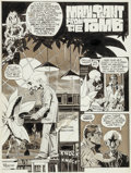 """Original Comic Art:Complete Story, Ralph Reese Web of Horror #2 Complete 6-Page Story""""Man-Plant From the Tomb"""" Original Art Group (Major Magazines, ...(Total: 6 Original Art)"""