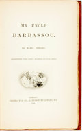Books:Americana & American History, Mario Uchard. My Uncle Barbassou. London: Vizetelly &Co., 1888....