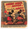 Big Little Book:Cartoon Character, Big Little Book #nn Mickey Mouse and Minnie March to Macy's (Whitman, 1935) Condition: GD/VG....
