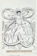 Original Comic Art:Splash Pages, Alan Kupperberg and Brian Moore Amazing Spider-Man: The Arms ofDoctor Octopus Splash Pages 21-23 Original Art Gro... (Total: 3Original Art)