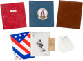Hockey Collectibles:Others, 1980 Herb Brooks Player File and Day Planner Notebooks for US Olympic Hockey Team....