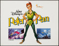 "Movie Posters:Animation, Peter Pan (Buena Vista, R-1982). Half Sheet (22"" X 28""). Animation.. ..."