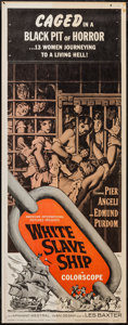 "Movie Posters:Adventure, White Slave Ship (American International, 1962). Insert (14"" X36""). Adventure.. ..."