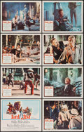 "Movie Posters:Adventure, Lord Jim (Columbia, 1965). Lobby Card Set of 8 (11"" X 14"").Adventure.. ... (Total: 8 Items)"