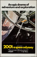 "Movie Posters:Science Fiction, 2001: A Space Odyssey (MGM, R-1980s). One Sheet (27"" X 41"").Science Fiction.. ..."