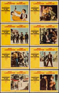 """Movie Posters:Western, Gunfight at the O.K. Corral (Paramount, 1957). Lobby Card Set of 8 (11"""" X 14""""). Western.. ... (Total: 8 Items)"""