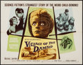 """Movie Posters:Science Fiction, Village of the Damned (MGM, 1960). Half Sheet (22"""" X 28""""). Science Fiction.. ..."""