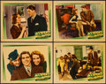 "Movie Posters:Crime, Accidents Will Happen (Warner Brothers, 1938). Lobby Cards (4) (11"" X 14""). Crime.. ... (Total: 4 Items)"