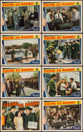 "Movie Posters:Action, Calling All Marines (Republic, 1939). Lobby Card Set of 8 (11"" X14""). Action.. ... (Total: 8 Items)"
