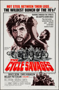 "Movie Posters:Exploitation, The Cycle Savages (Trans American, 1970). One Sheet (27"" X 41"").Exploitation.. ..."