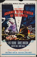"""Movie Posters:Science Fiction, Journey to the Center of the Earth (20th Century Fox, 1959). OneSheet (27"""" X 41""""). Science Fiction.. ..."""