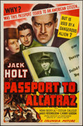 "Movie Posters:Action, Passport to Alcatraz (Columbia, 1940). One Sheet (27"" X 41"").Action.. ..."