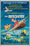 "Movie Posters:Animation, The Rescuers & Other Lot (Buena Vista, 1977). One Sheets (2)(27"" X 41""). Animation.. ... (Total: 2 Items)"