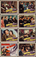 """Movie Posters:Crime, Smashing the Rackets (RKO, 1938). Lobby Card Set of 8 (11"""" X 14"""").Crime.. ... (Total: 8 Items)"""