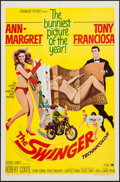 "Movie Posters:Comedy, The Swinger (Paramount, 1966). One Sheet (27"" X 41""). Comedy.. ..."