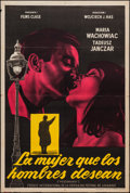 "Movie Posters:Foreign, Lydia Ate the Apple (Films Clase, 1958). Argentinean Poster (29"" X 43""). Foreign.. ..."