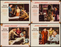 """Movie Posters:Hitchcock, Rear Window (Paramount, 1954). Lobby Cards (4) (11"""" X 14""""). Hitchcock.. ... (Total: 4 Items)"""