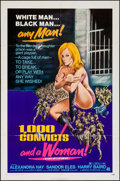 "Movie Posters:Bad Girl, 1,000 Convicts and a Woman (American International, 1971). OneSheet (27"" X 41""). Bad Girl.. ..."