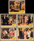 """Movie Posters:Musical, You Were Never Lovelier (Columbia, 1942). Lobby Cards (5) (11"""" X 14""""). Musical.. ... (Total: 5 Items)"""
