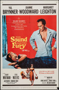 "Movie Posters:Drama, The Sound and the Fury (20th Century Fox, 1959). One Sheet (27"" X 41""). Drama.. ..."