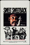 "Movie Posters:Blaxploitation, Sweet Sweetback's Baadasssss Song (Cinemation Industries, 1971). One Sheet (27"" X 41""). Blaxploitation.. ..."