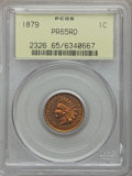 Proof Indian Cents: , 1879 1C PR65 Red PCGS. PCGS Population (41/36). NGC Census: (16/22). Mintage: 3,200. Numismedia Wsl. Price for problem free...