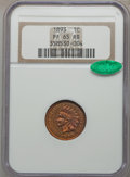 Proof Indian Cents: , 1893 1C PR65 Red and Brown NGC. CAC. NGC Census: (38/11). PCGS Population (28/8). Mintage: 2,195. Numismedia Wsl. Price for...