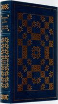 Books:Fine Bindings & Library Sets, Wallace Stegner. SIGNED. Crossing to Safety. Franklin Library, 1987. Signed by the author. ...