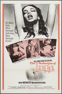 """The Seduction of Inga and Other Lot (Cinemation Industries, 1971). One Sheets (2) (27"""" X 41""""). Sexploitation..."""