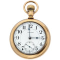 Timepieces:Pocket (post 1900), Waltham 21 Jewels Series 845 Pocket Watch. ...