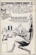 Original Comic Art:Miscellaneous, Marvel Tales #147 Spider-Man Cover Production Art (Marvel, 1982)....