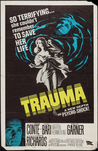 "Trauma & Other Lot (Parade Releasing, 1962). One Sheets (2) (27"" X 41""). Horror. ... (Total: 2 Items)"