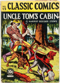 Books:Literature Pre-1900, [Harriet Beecher Stowe]. Uncle Tom's Cabin. Classic ComicsNo. 15. First printing. ...