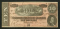 Confederate Notes:1864 Issues, Representing Nothing on God's Earth Now Poem T68 $10 1864 PF-46 Cr. UNL.. ...
