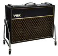 Musical Instruments:Amplifiers, PA, & Effects, Circa 1968 Vox AC30 TB Black Guitar Amplifier, Serial # 16110....