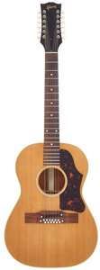 Musical Instruments:Acoustic Guitars, 1963 Gibson B-25-12 Natural 12 String Acoustic Guitar, Serial #142492....