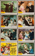 "Movie Posters:Comedy, A Date with Judy (MGM, 1948). Lobby Card Set of 8 (11"" X 14"").Comedy.. ... (Total: 8 Items)"
