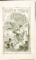 Books:Literature Pre-1900, [Harriet Beecher Stowe]. Uncle Tom's Cabin; or, Negro Life inthe Slave States of America. London: Clarke & Co., 185...