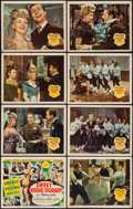 """Movie Posters:Musical, Sweet Rosie O'Grady (20th Century Fox, 1943). Lobby Card Set of 8(11"""" X 14""""). Musical.. ... (Total: 8 Items)"""