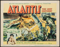 "Movie Posters:Adventure, Atlantis, the Lost Continent (MGM, 1961). Title Lobby Card (11"" X14""). Adventure.. ..."