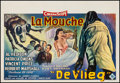 """Movie Posters:Science Fiction, The Fly (20th Century Fox, 1958). Belgian (14.5"""" X 21.5""""). ScienceFiction.. ..."""