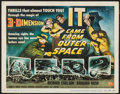 "Movie Posters:Science Fiction, It Came from Outer Space (Universal International, 1953). TitleLobby Card (11"" X 14"") 3-D Style. Science Fiction.. ..."