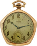 Baseball Collectibles:Others, 1923 New York Yankees World Series Championship Pocket WatchPresented to Benny Bengough....