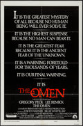 "Movie Posters:Horror, The Omen & Other Lot (20th Century Fox, 1976). One Sheets (3)(27"" X 41"") & Australian One Sheet (27"" X 40""). Horror.. ...(Total: 4 Items)"