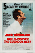 "Movie Posters:Academy Award Winners, One Flew Over the Cuckoo's Nest (United Artists, 1975).International One Sheet (27"" X 41"") Academy Award Style. AcademyAwa..."