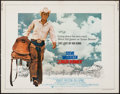 "Movie Posters:Western, Junior Bonner (Cinerama Releasing, 1972). Half Sheet (22"" X 28""). Western.. ..."