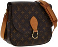 Luxury Accessories:Bags, Louis Vuitton Classic Monogram Canvas St. Cloud Bag. ...